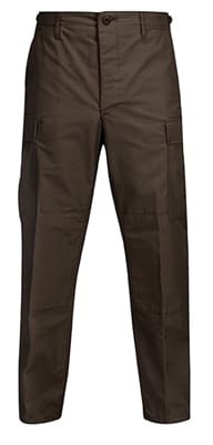 Picture of Men's BDU Battlerip Trouser with Button Fly - Brown - L - Regular