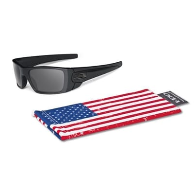 Picture of SI Fuel Cell - Matte Black/Grey Tonal Flag - OO9096-29