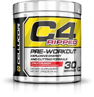 Picture of C4 Pre-Workout - 30 Servings - Ripped Fruit Punch
