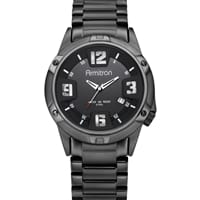 Picture of Men's Black Plated Stainless-Steel Watch