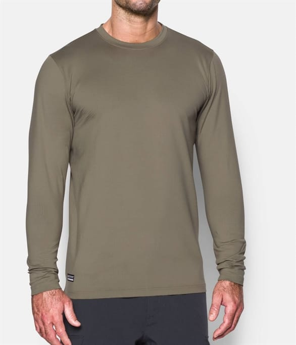 7ecd9dc2da4168 Under Armour - ColdGear Infrared Tactical Fitted Long Sleeve Crew ...