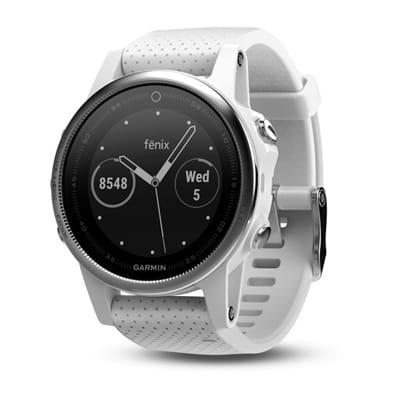 Picture of fēnix® 5S Multisport GPS Watch - White/Carrara White Band