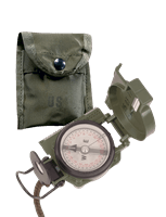 Picture of GI Lensatic Compass with Pouch