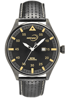 Picture of 44mm IP Black Steel Watch - Black