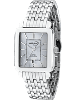Picture of Steel White Mother of Pearl Dial Watch - White - Silver