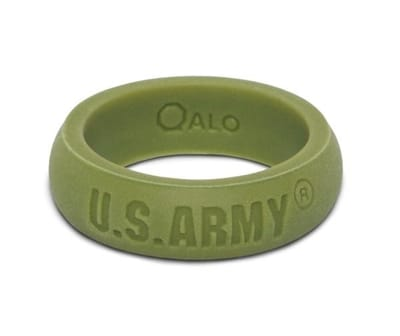 Picture of Women's U.S. Army Silicone Ring - Green - 7