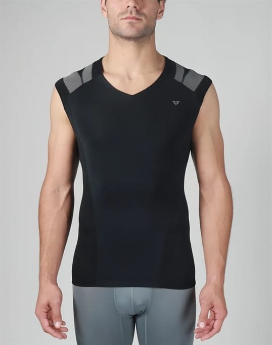 46c79cf7b1 IntelliSkin - Men s Foundation V-Neck Tank Military Discount