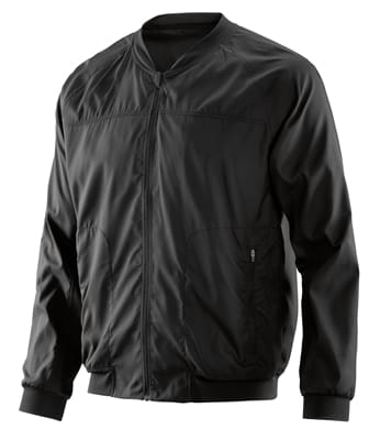 Picture of Men's Activewear Vayder Bomber Run Jacket - Black - M