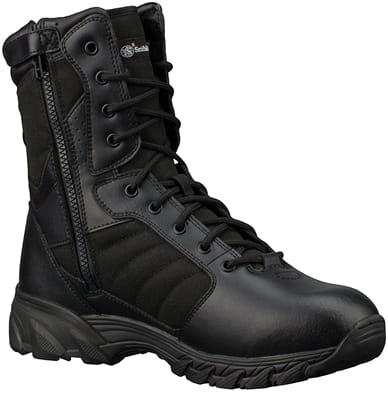 """Picture of Breach 2.0 Waterproof 8"""" Side Zip Boots - Black - 5 - Regular"""