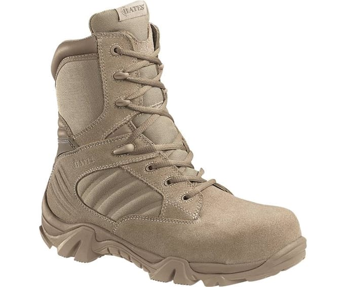 770ed257c67 Bates - Men's GX - 8 Composite Toe Side Zip Boots Military Discount ...