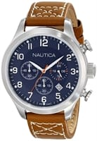 Picture of Men's BFD 101 Chrono Classic Stainless Steel Watch - Blue/Brown/Steel