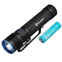 Picture of S30R III Baton Rechargeable LED 1050 Lumens Flashlight with 3500mAh Olight 18650 Battery - Black