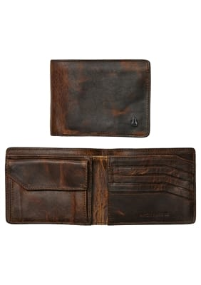 Picture of Men's Arc SE Bi-Fold Wallet - Black/Brown
