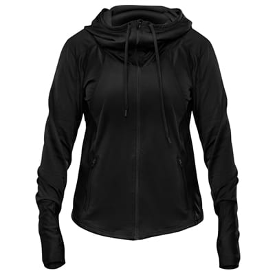 Picture of Women's Accent II Hooded Jacket - Black/Stealth Black - L