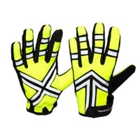 Picture of Haltz Nighttime Full Finger Gloves - Yellow/Yellow - XL