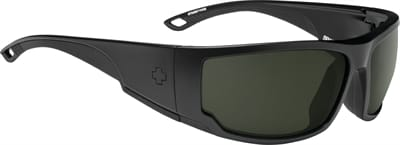 Picture of Tackle Polarized Sunglasses - Matte Black - Happy Gray Green