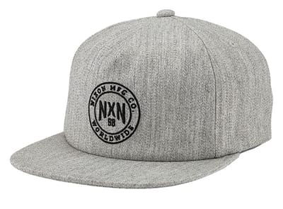 Picture of Willie 110 Strapback Hat - Heather Gray