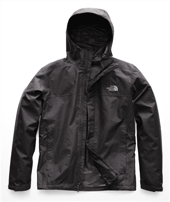 Picture of Men's Venture 2 Jacket - TNF Dark Grey Heather/TNF Dark Grey Heather - S - Regular