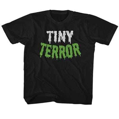 Picture of Kid's Tiny Terror T-Shirt - Black - 4T
