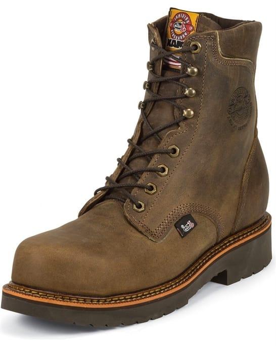 145d23a518f Justin Original Workboots - Men's Blueprint Bay Apache Comp Toe 8 ...