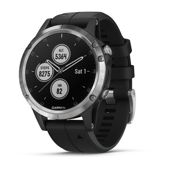 Garmin - Fenix 5 Plus Multisport GPS Watch - Military & Gov't