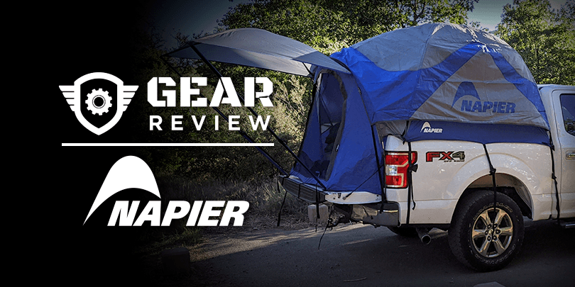 Escaping to a Campground Getaway with the Napier SPORTZ Truck Tent